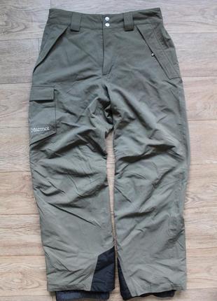 Горнолыжные штаны на мембране marmot motion insulated pant м размер