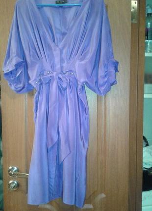 Платье 100% шелк
