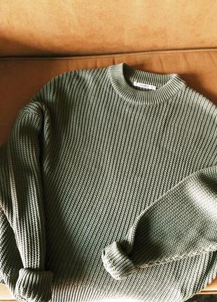 Хлопковый свитер pull&bear