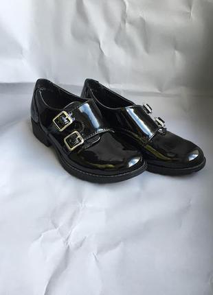 Туфли монки ботинки для девочки 33 размер