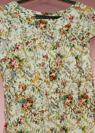 Блузка / летняя блузка / цветочный принт