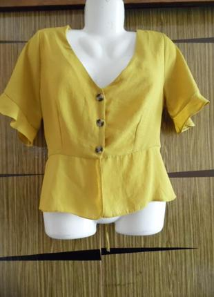 Блуза лето новая primark размер 16 – идет на 50.