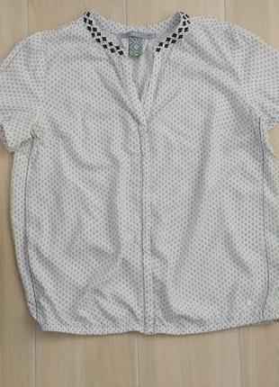 P m-l хлопковая красивая блуза !2 фото
