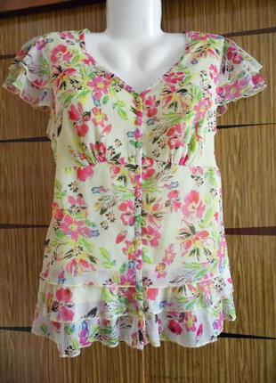 Блуза лето новая per una размер 14 – идет на 48-50.