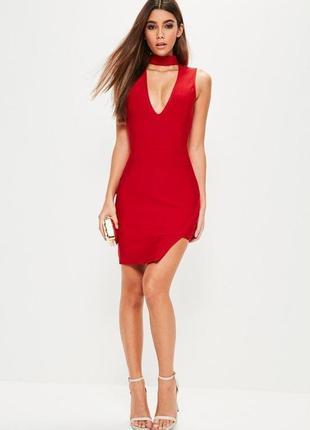 Бандажное мини платье, есть дефект