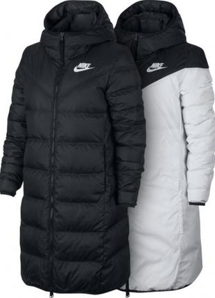 Пуховик nike w nsw wr dwn fill prka rev (оригинал)