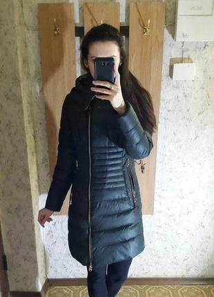 Теплый зимний пуховик, куртка ikaus