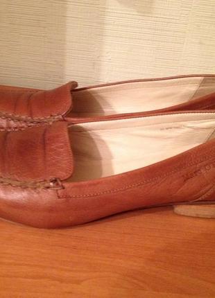 Туфли фирменные marc o'polo р.42 кожаные распродажа