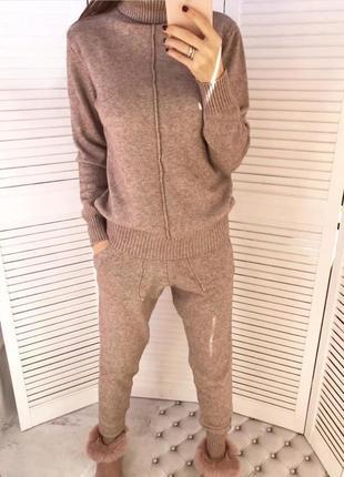 Кашемировый костюм