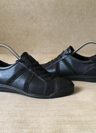 Шкіряні кросівки, кроссовки ecco, оригінал, 37 р.