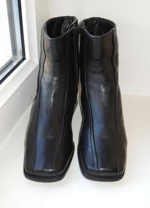Кожаные зимние теплые ботинки сапоги medicus (германия) р.37-38 евро 4,5 (24,5 см)