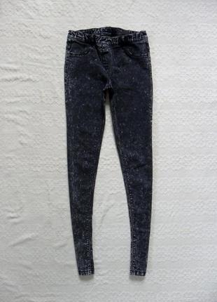 Стильные джинсы джеггинсы скинни kiabi, xs размер.