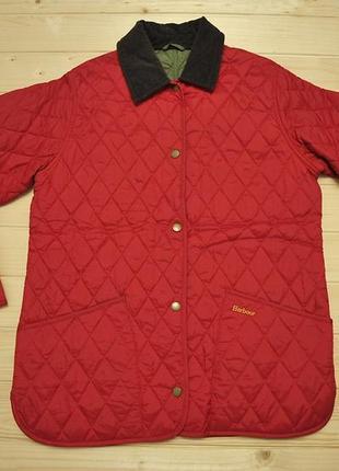 Стьогана куртка barbour - 12