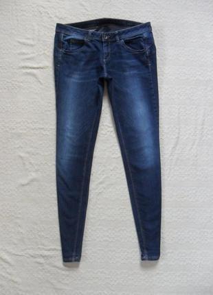 Стильные джинсы скинни benetton,  l размер.