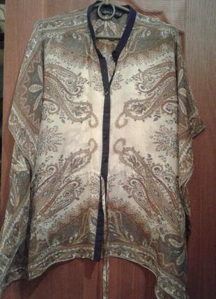 Блузка 100%натуральный  шелк