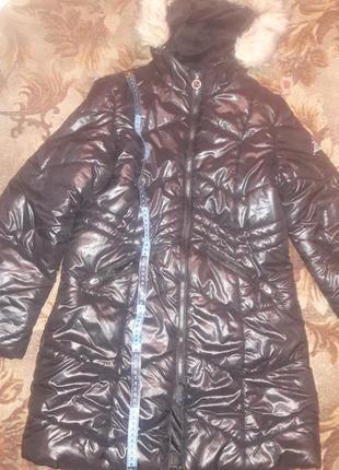 Теплая курточка 42размер