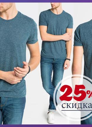 Синяя мужская футболка lc waikiki / лс вайкики футболка