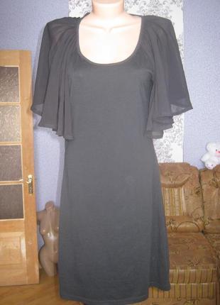 Сексі плаття з відкритою спиною чорне,розмір 14\40-42