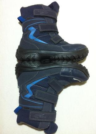 Зимние ботинки ,сапоги superfit с мембраной gore-tex р.28 ст.18,5 см австрия! оригинал !