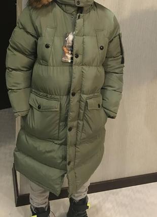 Зимнее пальто для подростков и мальчиков !