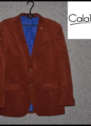 Брендовий піджак чоловічий вельветовий calabria l [німеччина] (мужской)