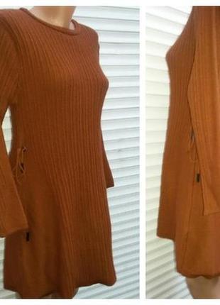Кашемировые платье женское р.42-48