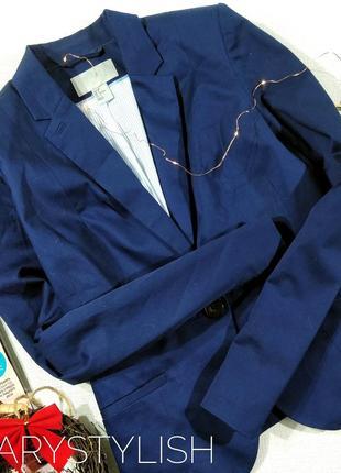 Пиджак жакет синего цвета river island