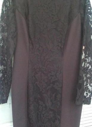 Кружевное платье m&s collection