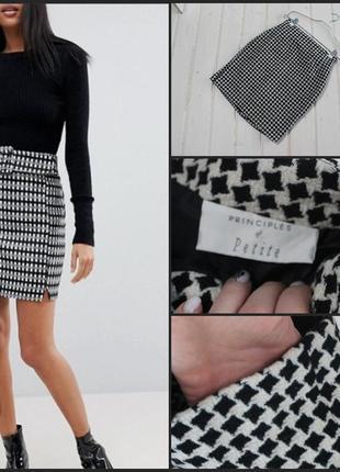 Principles.шикарная юбка.в составе шерсть.