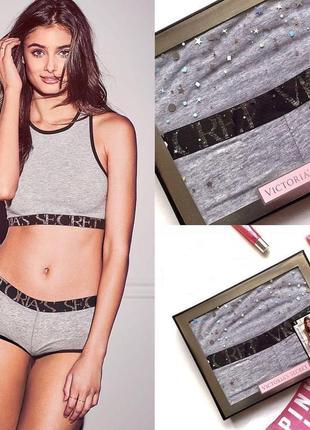 Комплект белья виктория сикрет victoria's secret в фирменной коробке, оригинал!