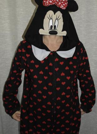 Disney minnie mouse слип кигуруми карнавальный костюм пижама комбинезон