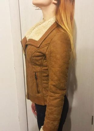 Дубленка косуха кожаная куртка