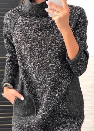 Новое теплое платье2