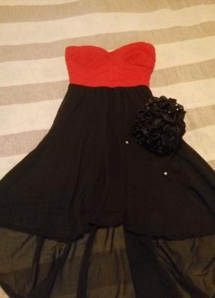 Вечернее платье на выпускной tally weijl бандаж шифон. лимитированная коллекция!