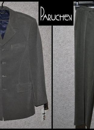 Брендовий костюм чоловічий paruchev m [болгарія] (пиджак + брюки мужские)