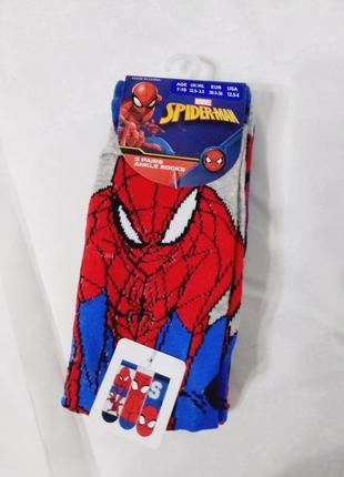 Носки для мальчика со spider man