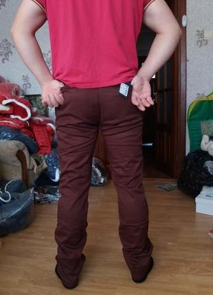 Теплые флис,супер-модные мужские штаны р-ры283 фото