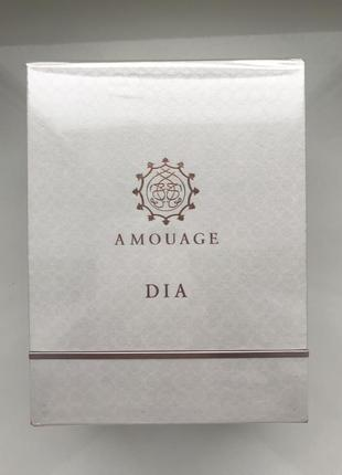 Парфюмированная вода amouage dia pour femme