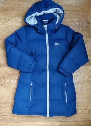Пальто пуховик зима trespass 5-6 лет (110-116)
