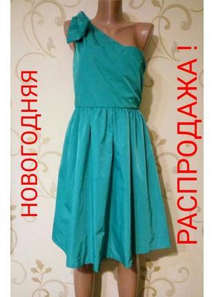 Новогодняя распродажа ! promod . красивое нарядное платье . новое с биркой