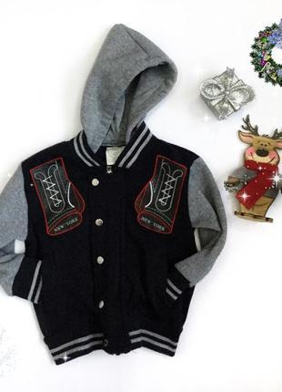 Тепленькі  куртка-бомпер matalan ,на вік 18-24 міс.