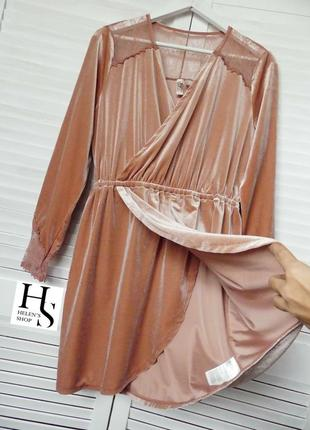 Скидки до 50% заходите!платья  на запах с кружевом h&m(42 и меньше см.замеры)