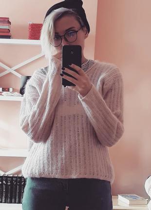 Очень теплый мохеровый свитер