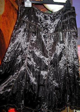 Красивейшая юбка клеш миди 3susses (франция) обхват пояса 92