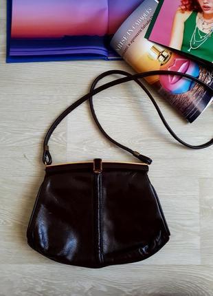 Кожаная сумка / 2я вещь в подарок