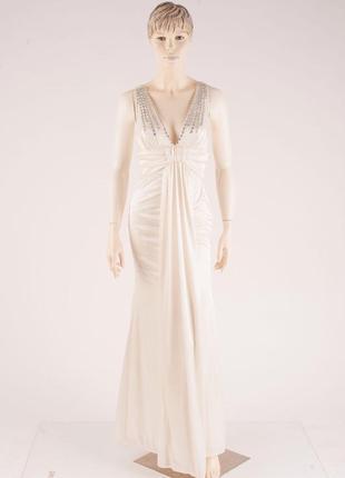 Длинное нарядное выпускное платье по фигуре