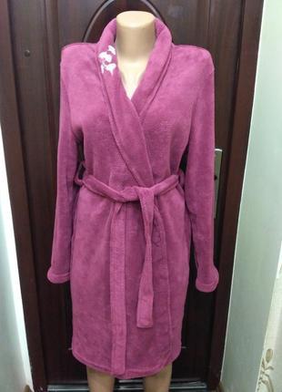 Флисовый халатик, махровый, плюшевый халат размер xs-s