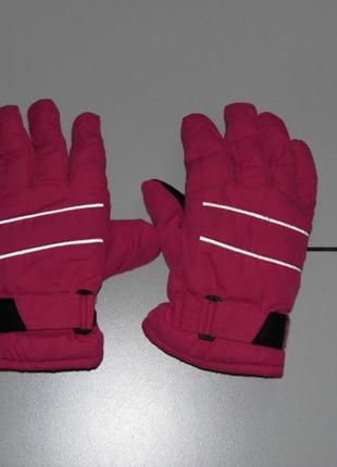 Hema/перчатки термо / 134/140 - на утеплителе thinsulate- германия!!!