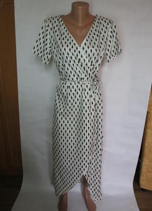 Длинное легкое платье / платье в пол  с запахом