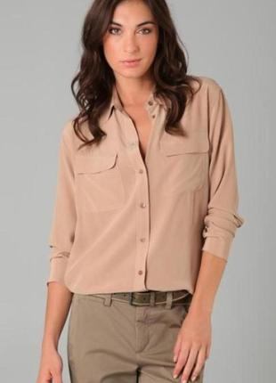 Шелковая рубашка от amisu
